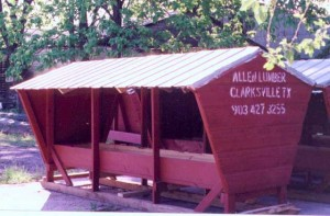 Allen Lumber 8 and 12 foot Mineral Feeders