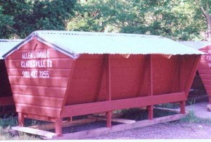 Allen Lumber 12 foot Hopper Feeder
