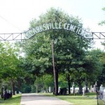 Clarksville Cemetery Entrance