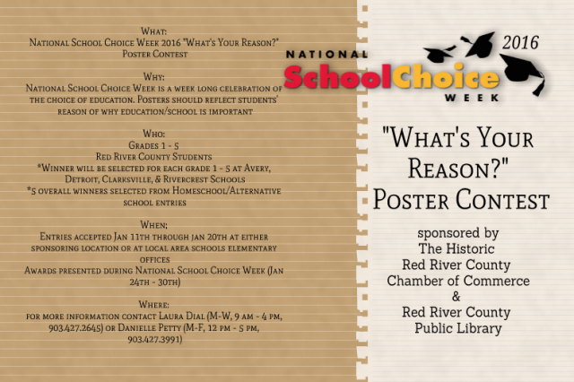 NSCW Poster Contest 2016 Flyer