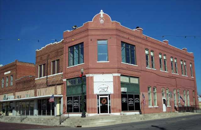 The Red River Chamber of Commerce, located on the Historic Clarksville Square