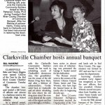 Clarksville Chamber Holds Annual Banquet