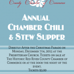 12/3/2018 — Clarksville Christmas Parade and Chamber Chili & Stew Supper